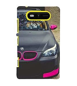 Excellent Car 3D Hard Polycarbonate Designer Back Case Cover for Nokia Lumia 820 :: Microsoft Lumia 820