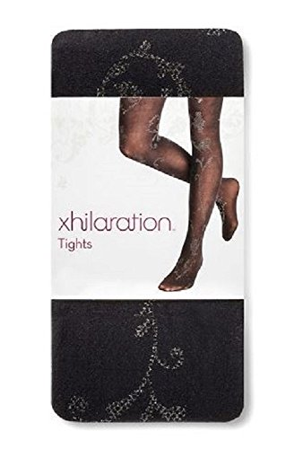 xhilaration-tights-black-with-subtle-silver-pattern-s-m