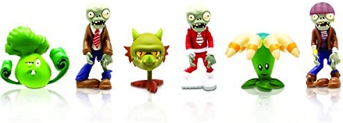 Plants vs. Zombies Multi Pack 2 Inch Figura Set