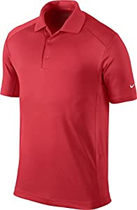 Nike Golf Men's Victory Polo DARING RED/WHITE S