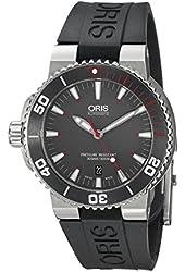 Oris Men's 73376534183RS Analog Display Swiss Automatic Black Watch