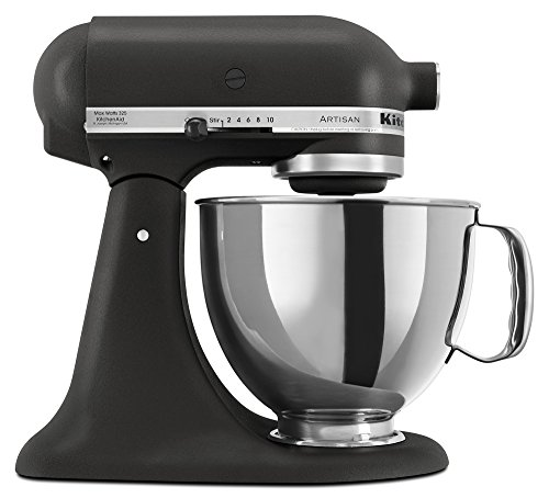 KitchenAid KSM150PSBK 5-Qt. Artisan Series with Pouring Shield - Imperial Black