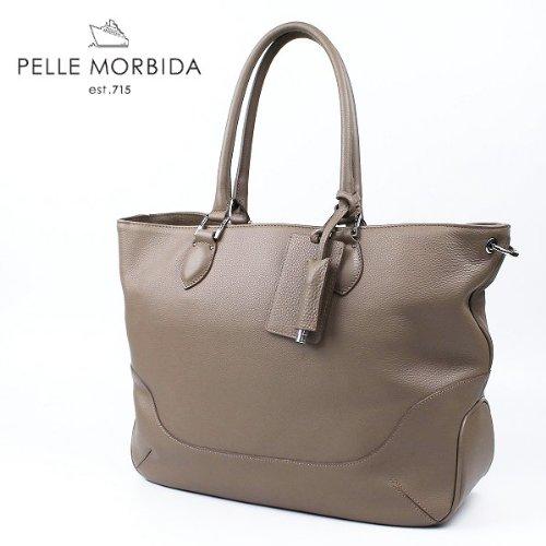 PELLE MORBIDA ペッレ モルビダ トートバッグ PMO-MB021(ベージュ)