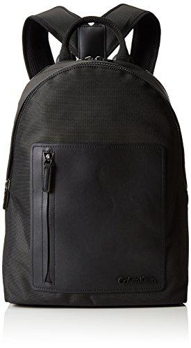 Calvin Klein JeansZONE BACKPACK - Borse a Tracolla Uomo , Nero (Schwarz (BLACK 001 001)), 30x39x18 cm (B x H x T)