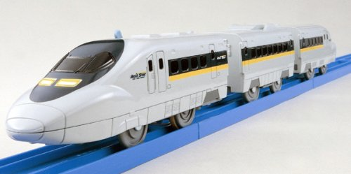 Tomica PraRail Bullet Train S-05 Shinkanen Series 700 With Light (Model Train) by Takara Tomy (Toy Bullet Train compare prices)