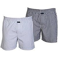 Careus Men's Cotton Boxers (Pack of 2)(1013_1018_Multi-coloured_Medium)