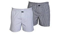 Careus Men's Cotton Boxers (Pack of 2)(1013_1018_Multi-coloured_X-Large)