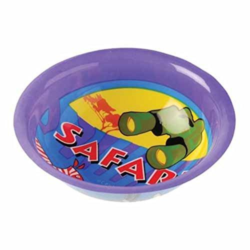 Dozen Safari Design Plastic Party Bowls