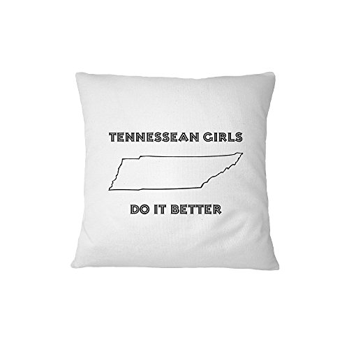 Tennessean Girls Do It Better Tennessee Sofa Bed Home Decor Pillow Cover (The Tennessean compare prices)
