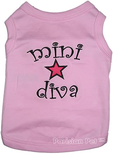 MINI DIVA Dog T-Shirt - Medium