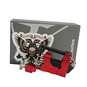 Buy rotary tattoo guns tattoo machines red color aircraft for Tattoo machine online shopping in india
