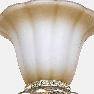 Applique en cristal, une lumiššre, Classique Peinture Fer RšŠsine Verre