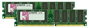 Kingston Technology 2 GB Kit (2x1 GB) Memory for Select Apple Desktops Dual Channel Kit 400 MHz (PC 3200) 184-Pin DDR SDRAM KTA-G5400/2G