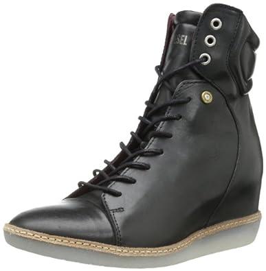 Diesel Women's Turn Around Yoland Sneaker,Black,6 M US
