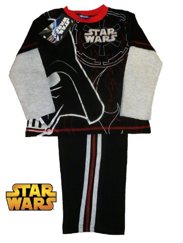 STAR WARS DARTH VADER LONG LEG PYJAMAS 7-8 YEARS