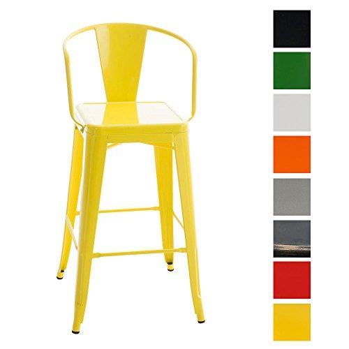 CLP-Retro-Metall-Barhocker-VASBRO-Sitzhhe-77-cm-klassich-robust-gelb