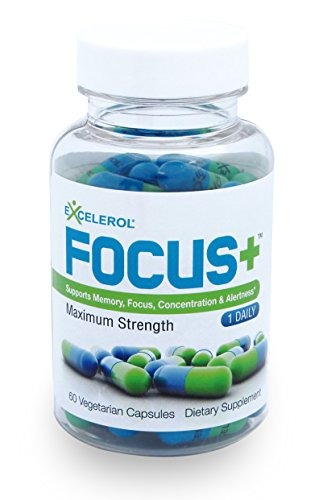 FOCUS+ Brain Supplement And Memory Support Pills 60