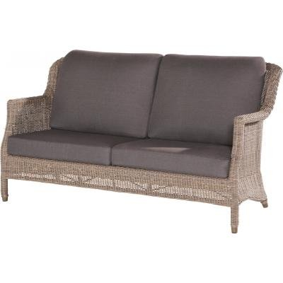 4 Seasons Outdoor Del Mar 2.5-Sitzer Sofa Polyrattan Pure