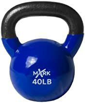 Xmark Premium Vinyl Coated Kettlebell (35-Pounds)