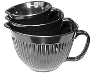 Calypso Basics Measuring Cup Set, Black