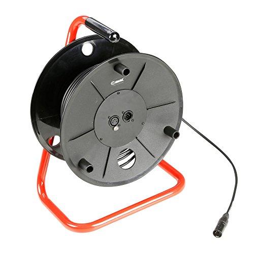 ah-Cables-K3CDDMX5030-Adam-Hall-Kabel-3-Star-Serie-Kabeltrommel-5-polig-DMXAES-30-m-schwarz