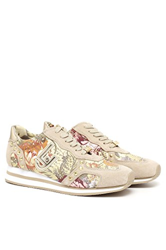 Sneaker donna Liu-Jo S16001 Marguerite beige/naturale P/E 2016 (37)