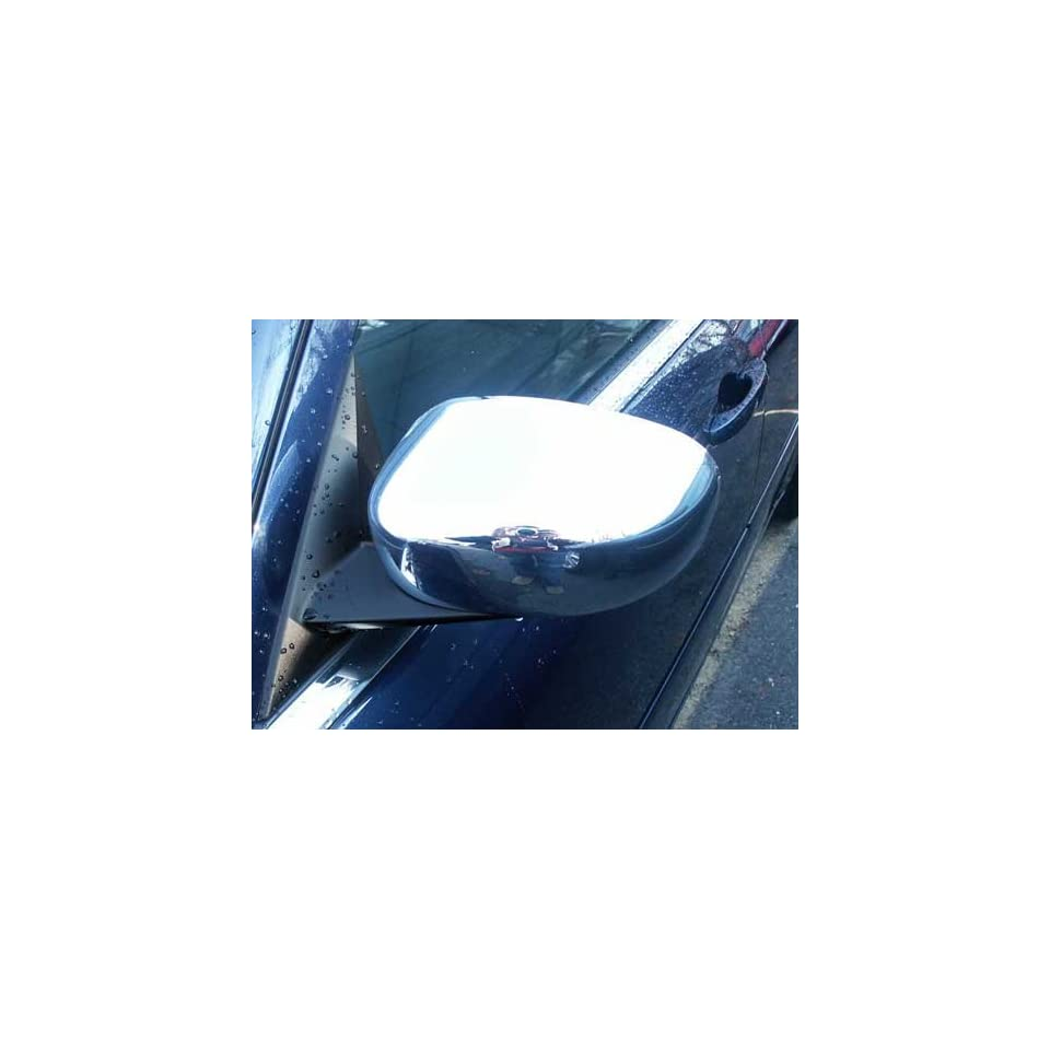 . Chrome Mirror Covers for Non Painted Side View Mirrors Automotive