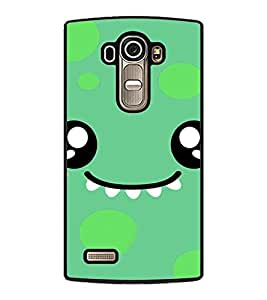 PrintDhaba Cartoon D-4225 Back Case Cover for LG G4 (Multi-Coloured)