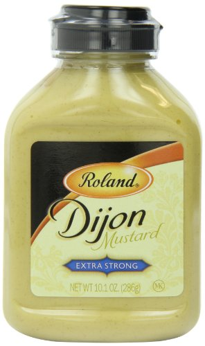 Roland Extra Strong Dijon Mustard, 10.1-Ounce (Pack Of 6)