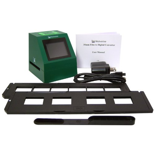 Best Review Of Wolverine F2D14 14 MP 35mm Slides and Negatives to Digital Image Converter