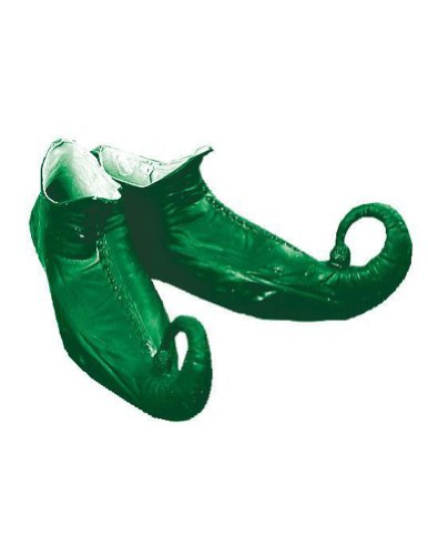 Elf Shoes Green Christmas Costume - 1 size