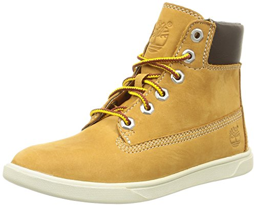 timberland-groveton-6in-lace-wi-sneakers-hautes-mixte-enfant-beige-wheat-25-eu