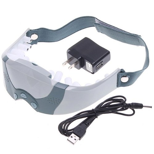Mask Migraine Dc Electric Care Forehead Eye Massager With Free Gift Eye Mask,
