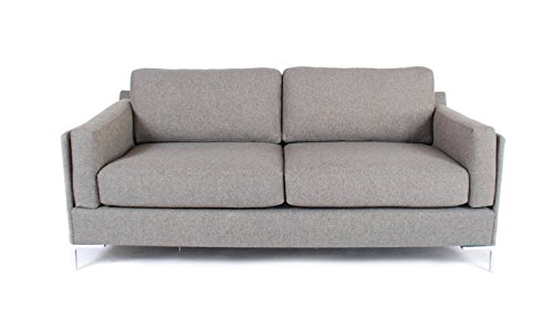 Adams Sofa In Steel (Steel) front-696079
