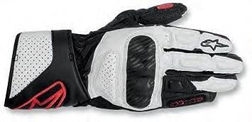 Alpinestars STELLA SP-8Femme Gants de moto en cuir noir/blanc & rouge NEUF