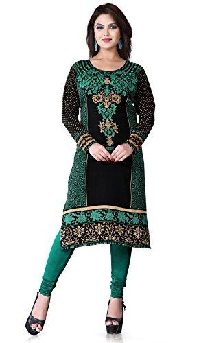 Printed-long-tunics-Kurti-tops-Multiple-Styles-colors-Long-Sleeves-Must-See