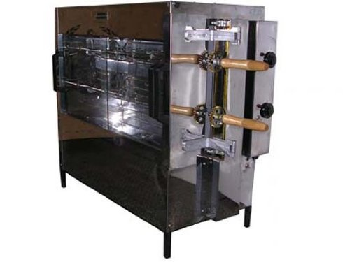 10 Chicken Commercial Rotisserie Oven Machine, Electric