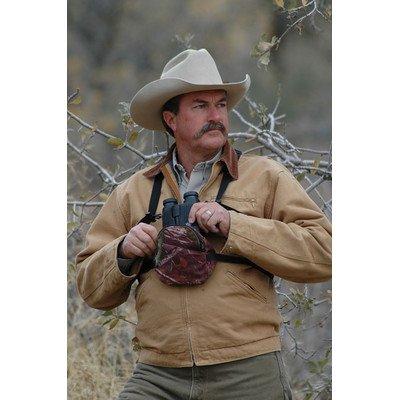 Crooked Horn Outfitters Bino Shield Binocular Covers, Mossy Oak, Large