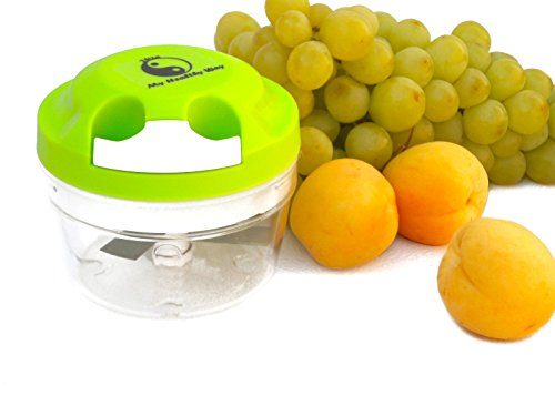 My Healthy Way-mini Food Chopper-Green-Manual Operation-Food Processor-Portion Control -PBA Free (Blender Food Processor Slicer compare prices)