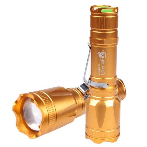 Ultrafire 2000Lm Cree Xml T6 5-Mode Led Adjustable Focus Flashlight Torch (Flashlight Only)