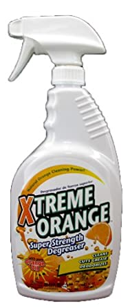 Xtreme Orange XOSD-32 32 Oz. Super Strength Degreaser (Case of 12)