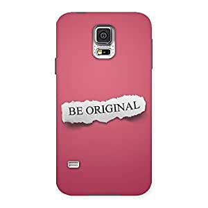 Cute Be Orignal Multicolor Back Case Cover for Samsung Galaxy S5