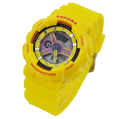Trendy Best Gift Shhors Children Led Digital Watches Boys Girls Dual Time Electronic Watches Fashion Sports Silicone Wristwatch By Soulya