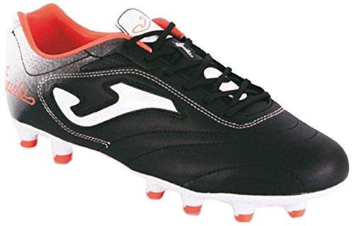 Joma Aguila - Scarpe da calcio da uomo, colore nero / rosso.  Taglia 43