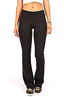 Active Women's Foldover Active Yoga Pants