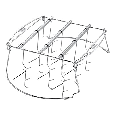 22 in. Expandable Smoking Rack