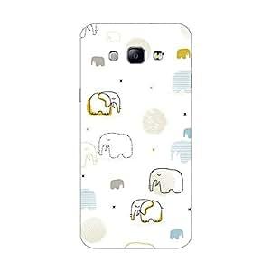 Garmor Designer Silicone Back Cover For Samsung Galaxy A8 SM-A800F