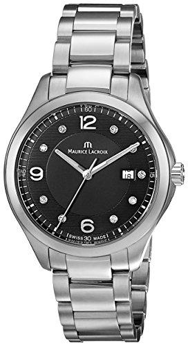 Maurice Lacroix MI1014-SS002-350 - Reloj de cuarzo para mujer color plateado