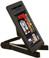 AmazonBasics Portable Fold-Up Travel Stand for the  iPad 4, iPad 2, Samsung Galaxy Tab 10.1 and 7.0, Kindle Fire, Kindle Fire HD, Kindle Touch (Black) by AmazonBasics