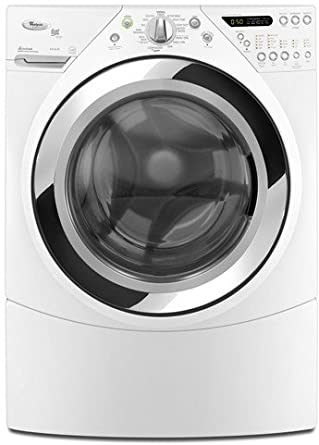 Amazon Com Whirlpool Duet Steam Wfw9750ww 27 Front Load